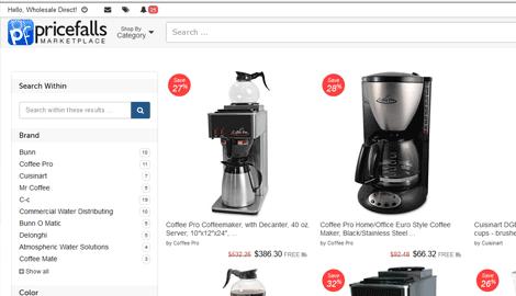 Pricefalls API